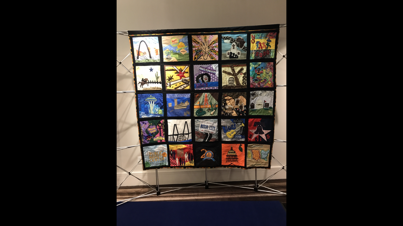 AACUC, 20th Anniversary, Quilt, Art