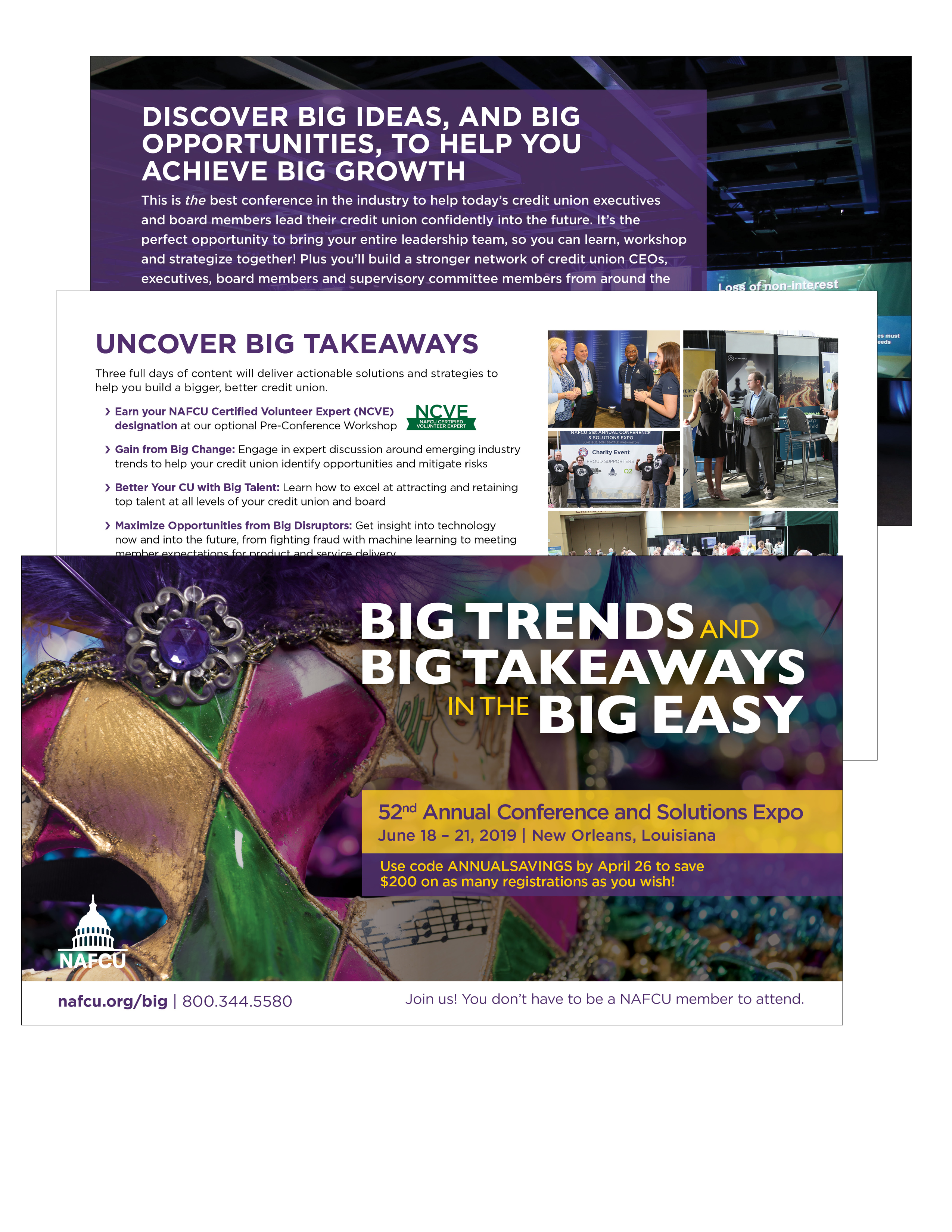 NAFCU 52nd Annual Conference and Solutions Expo Brochure