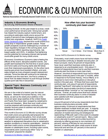 Economic and CU Monitor Enewsletter