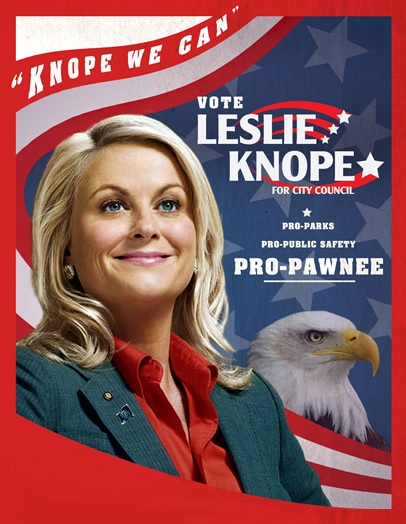 Help the Leslie Knopes of your credit union serve their communities. More parks, less libraries. That's the Leslie Knope Promise.