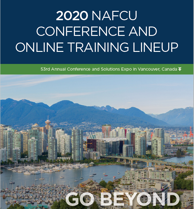 NAFCU 2020 Conference and Online Training Brochure