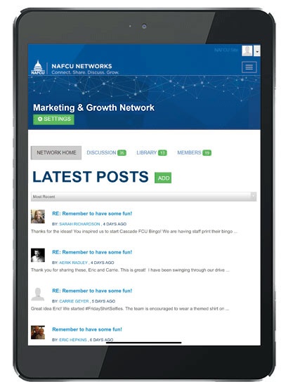 NAFCU Marketing & Growth Network