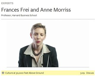 Frances Frei and Anne Morriss   Professor, Harvard Business School   Big Think-152636