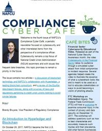 Compliance Cyber Cafe