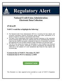 NAFCU Regulatory Alert