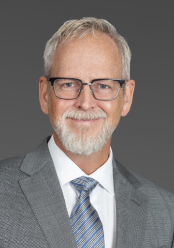 Larry Pruss, SVP, SRM